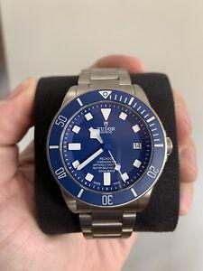 2020 Tudor Pelagos in Blue - Titanium/Rubber bracelets
