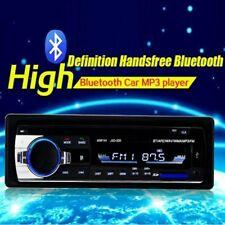 1 Din Reproductor MP3 estéreo para coche Bluetooth USB AUX Receptor de radio FM