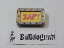 Shredder Belt Clip Zap! Rad Badge Burger King Teenage Mutant Ninja Turtles 1989
