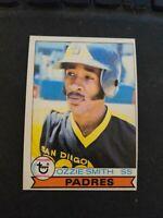 1979 Topps Baseball  #116 Ozzie Smith Rookie Card