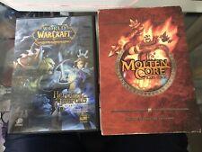 World of Warcraft TCG Molten Core Raid deck & Heroes of Azeroth starter deck