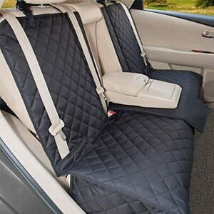 YESYEES Waterproof Dog Car Seat Covers Pet Seat Cover Nonslip Bench Seat Cover C