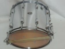 Vintage Slingerland 12 x 15 TDR Chrome O Wood Marching Snare Drum #1