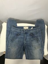 Current Elliott The Moto Stiletto Skinny Jean Apache Wash Womens Size 25