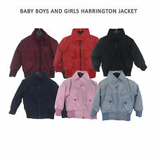 Baby / Boys / Girls Classic Vintage Harrington Jacket (retro mod scooter)