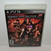 Dead or Alive 5 (Sony PlayStation 3, 2012) Complete