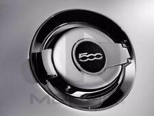 12-17 Fiat 500 New Chrome Fuel Filler Door with 500 Logo Mopar Factory Oem
