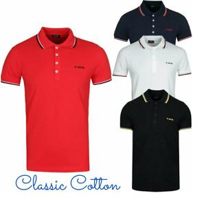 DIESEL T RANDY BROKEN Men's Polo Short Sleeve Cotton Golf Tee Top RRP £65
