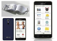 "Smartphone Emporia SMART.2 Mobiltelefon Telefon Handy 16GB 5"" Display Android"