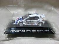 PEUGEOT 206 WRC 1999 Tour de Corse SS.8 1:64 Scale CM's Rally Car Collection