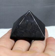 40mm Shungite Schungite Pyramid Anti Radiation Zazhoginskaya mine Karelia Russia