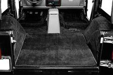 1987-1995 Jeep Wrangler YJ 5 Piece Cut-out Carpet Kit Black