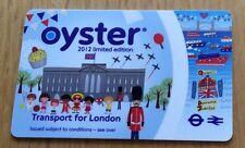 2012 Londres Jeux Olympiques Oyster Card-édition limitée-collection objet