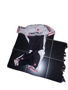 Castelli San Remo Speed Suit Size Large Black