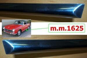 2 Profili sottoporta Fiat 1200-1500-1600 Spider Coupè mm1625 -door sill profiles