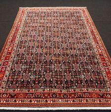 Orient Teppich Dunkelblau 287 x 202 cm Perserteppich Herati Muster Carpet Rug