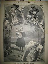 JOUETS POUPéE RUSSE POUPéE FR5ANCAISE MUSIQUE RUSSE PREOBRAJENSKY GRAVURES 1897