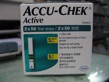 Accu-Chek Active 100 Test Strips | Expiry July 2019 | Accu Chek Active