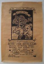 MASCON II- AN END OF WINTER FESTIVAL - SYDNEY PARK BRICK KILNS-1997 PROMO POSTER