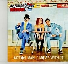 (DI479) Action Man / Move With It, Big Beat Bronson - 2012 DJ CD
