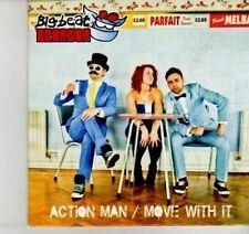 (DI479) Action Man / Move With It, Big Beat Bronson - 2012 DJ CD