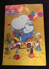 "New, Sealed Vintage Hallmark Hippo Centerpiece ""Tiny Goes to the Circus"""