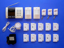 Advanced Wireless Home Security System With Auto-Dialler For Home