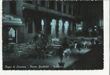 vecchia cartolina bagni di casciana piazza garibaldi di notte 77719