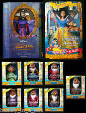 """Evil Queen Doll Great Villains Birthday Snow White and the Seven Dwarfs & 7 G"""""""