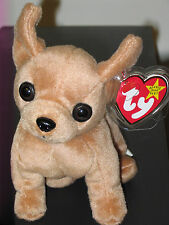 Ty Beanie Baby ~ TINY the Chihuahua Dog ~ MINT with MINT TAGS ~ RETIRED