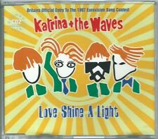 KATRINA & THE WAVES Love Shine A Light CD-2 SINGLE EUROVISION