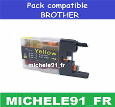 5sa143 Cartouches Non OEM compatibles avec Brother Lc1240 / Lc1280 1x Yellow