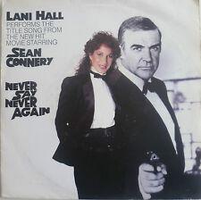 """7""""RAR! LANI HALL Never Say Never Again ( SEAN CONNERY )"""