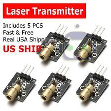 5pcs 5v Sensor Module Board For Arduino Avr Pic Ky 008 Laser Transmitter