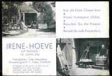 Vintage 1960s Holland Souvenir Card - Irene-Hoeve Edam Cheese
