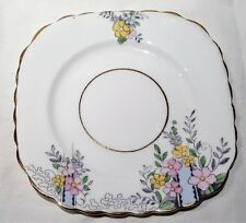 Vintage Colclough China Ltd Art Deco Pattern Bone China Side Plate c1939-45