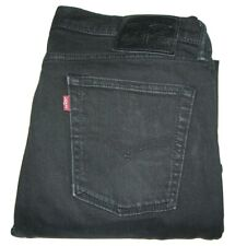 Mens LEVI'S 510 Black (0414) Skinny Fit Stretch Denim Jeans W34 L32