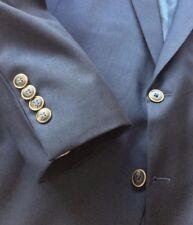 Joseph & Feiss Gold Executive Fit Blazer Men's 50R Navy Blue Vented EUC