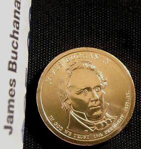 2010-P $1 James Buchanan Presidential Dollar BU