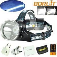 30000LM XM-L2 LED Headlamp USB Rechargeable Headlight Head Torch Lamp Spotlight