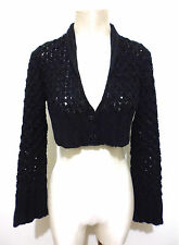DENNY ROSE Cardigan Bolero Donna Woman Bolero Sweater Sz.L - 46