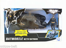 New in Box The Dark Knight Batman Figure with Batmobile Tumbler Car vehicle Toy