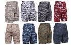 BDU Cargo Shorts Digital Camouflage Military Rothco