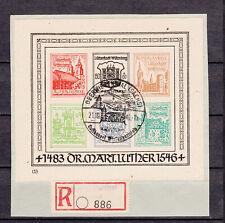 Wittenberg-Lutherstadt, Block I auf Briefstück
