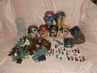 JOB LOT DISNEY MEGA BLOKS PIRATES OF THE CARIBBEAN THE TREASURE OF THE LORD