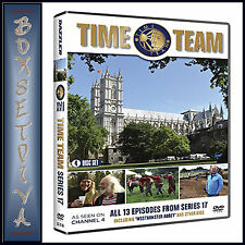 TIME TEAM - COMPLETE SERIES 17  - Tony Robinson **BRAND NEW DVD **