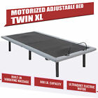 Motorized+Twin+XL+Bed+Frame+w+Remote+Control+Massage+%26+USB+Charging+Station