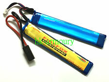 FIREFOX 7.4V 1200mAh 20C (2 pcs) Li-Polymer Rechargeable Battery Helicopter AEG