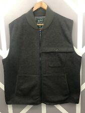 WOOLRICH Men's Alpine Wool Fleece Vest XL