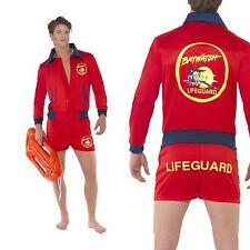 Con Licenza Ufficiale Baywatch Bagnino Costume Giacca & Shorts Taglia L Smiffys